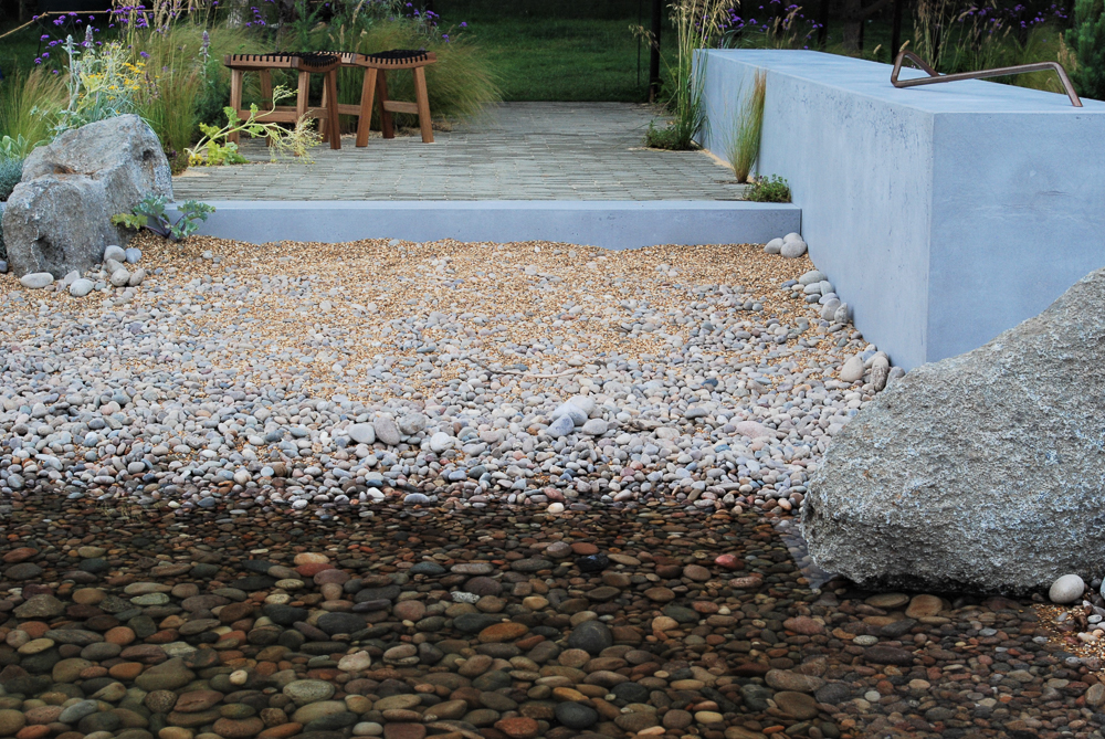 water feature ideas inspired by nature - coastal themed ponds