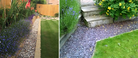 Creating A Low Maintenance Stone Border, How To Stone Garden Border