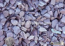Plum Slate Mini Mulch & Pipe Bedding 3-15mm
