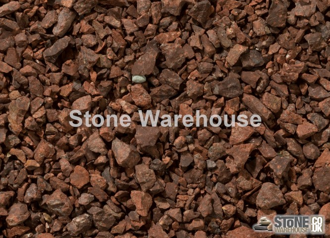 Red Granite Chippings 6mm