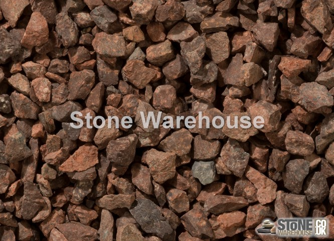 Red Granite Chippings 10mm 10 20mm