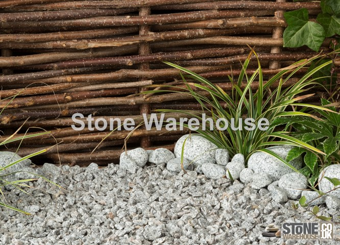 Silver Grey Granite 14mm