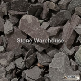 Plum Slate Chippings 20mm