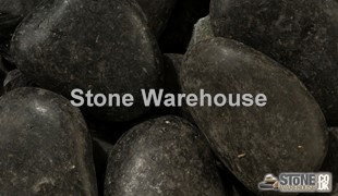 Black Polished Cobbles 50-80mm
