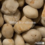 White Polished Pebbles 15-30mm