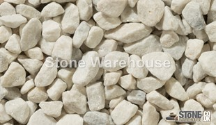 Polar White Chippings 20mm