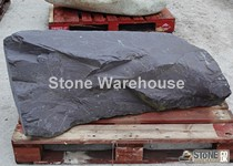 Large Slate Monolith 9 (Drilled)