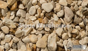 Yorkshire Cream Pebbles 15-30mm
