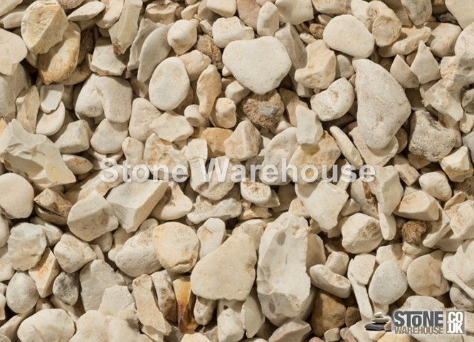 Yorkshire Cream Pebbles 20mm