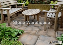 Bronte Acorn Brown 1.8m Paving Circle