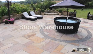 Modak Sandstone Patio Pack