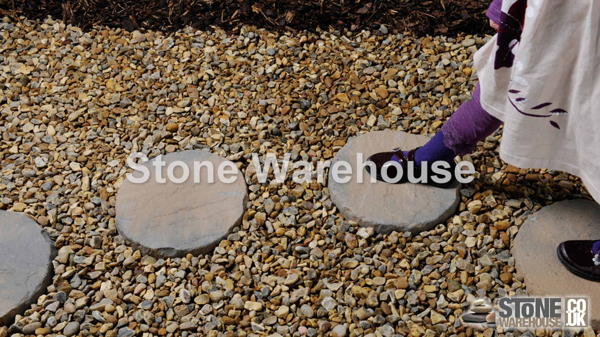 Various Sizes Bronte Acorn Brown Garden Paving /& Landscaping Slabs