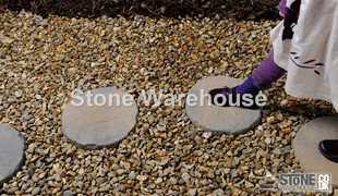 Acorn Brown Bronte Stepping Stones