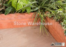 Rope Top Edging - Terracotta