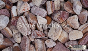 Rustic Red Cobbles 60-120mm