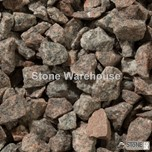 Salmon Pink Granite Chippings 14mm