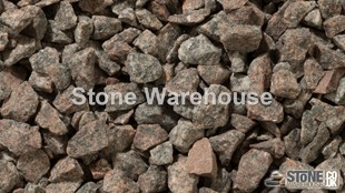 Pink Granite Chippings 14mm