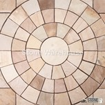 Fossil Mint Sandstone Circle & Corner Kit