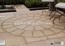 Bronte Honey Brown 1.8m Paving Circle