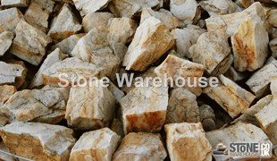 Apricot Marbled Rock 60-100mm