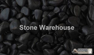Ebony Black Pebbles 30-60mm
