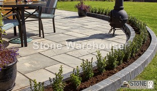 Weathered Buff Bronte Patio Pack