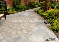 Bronte Weathered Buff 1.8m Paving Circle