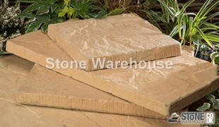 Weathered Apricot Bronte Slabs - Various Sizes