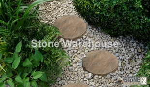Weathered Buff Bronte Stepping Stones