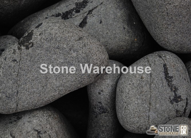 Ebony Black Boulders 150-300mm