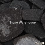 Tumbled Black Basalt Paddlestones