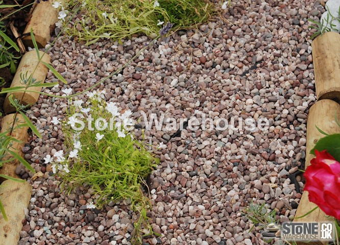 Staffordshire Pink Gravel 14mm