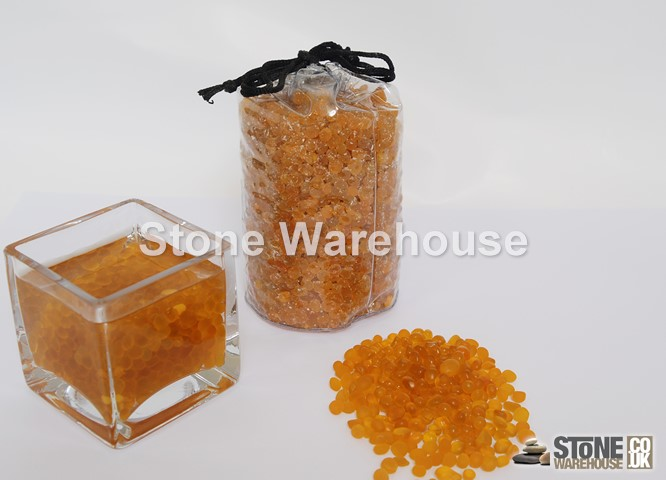 Amber Glass Pouch