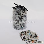 Speckled Ice Glass Pouch