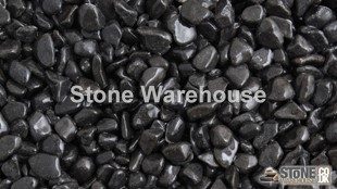 Ebony Black Pebbles 8-15mm