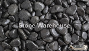 Ebony Black Pebbles 15-30mm