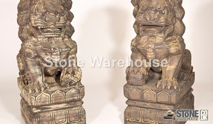 David's Large Male & Female Foo Dog