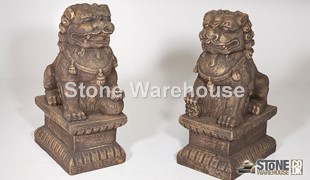 David's Small Male & Female Foo Dog