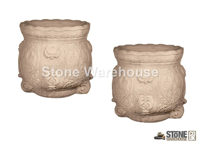 Stancombe Avening Planter Pair