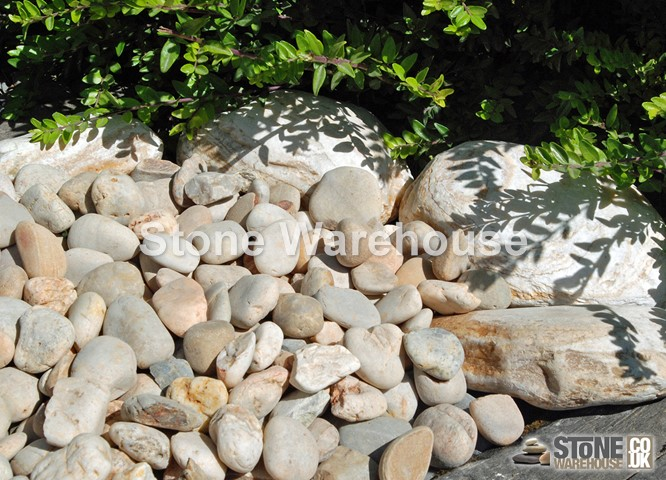 Apricot Pebbles 20-40mm