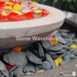 Charcoal Slate Chippings 40mm