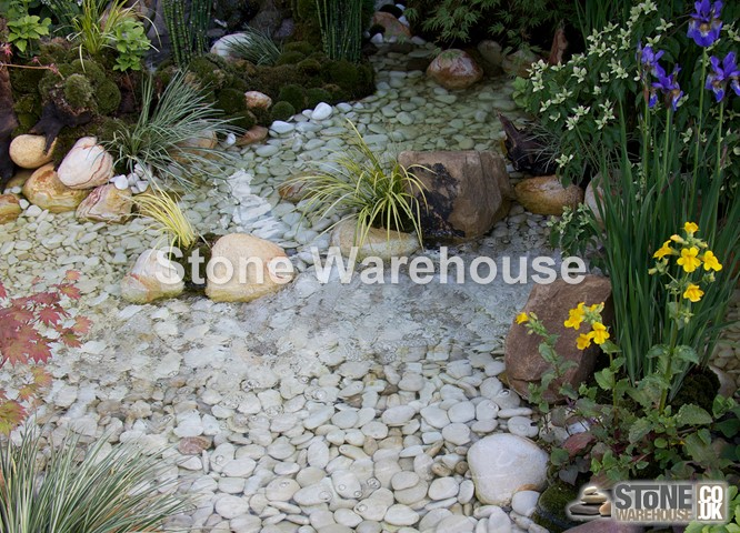 Japanese Beige Pebbles 15-30mm