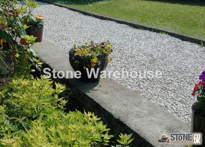 White Limestone Gravel 20mm