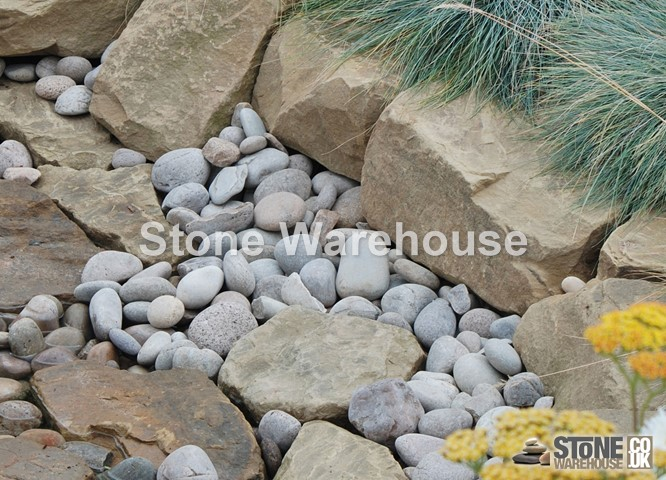 Yorkstone Brown Rockery