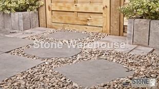 Weathered Stone Bronte Random Stepping Stones