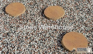 Honey Brown Bronte Stepping Stones
