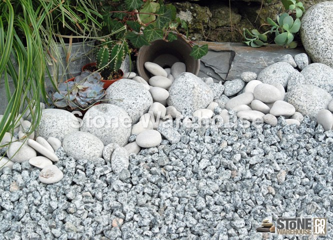 Silver Blue Graphite Granite 14mm 10 20mm