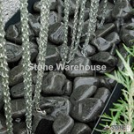 Ebony Black Cobbles 60-100mm