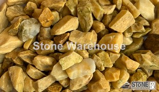 Honey Marble Chippings 20mm