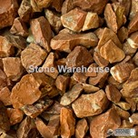 Red Marble Chippings 5-15mm